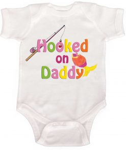 Hooked on Daddy Girl Bodysuit