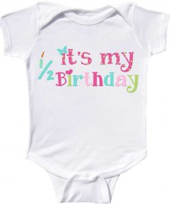 Girls Half Birthday Bodysuit