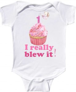 Funny First Birthday Bodysuit