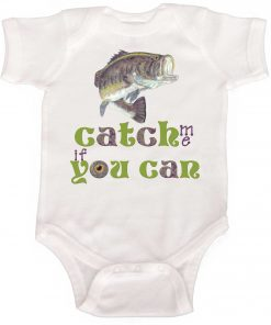 Baby Fishing Bodysuit