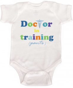 Boy Romper Doctor in Training