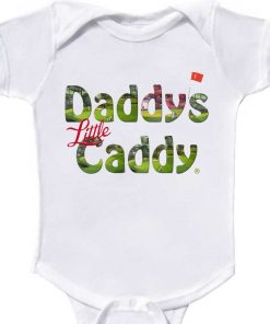 daddys little caddy baby bodysuit