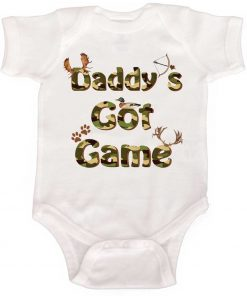 Baby Boy Hunting Bodysuit