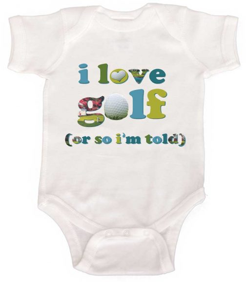 Baby Boy Golf Bodysuit
