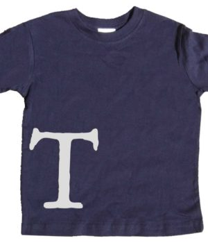 Toddler Boys Letter Shirts