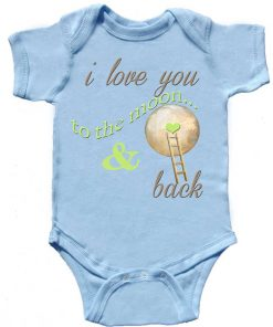Blue Baby Boy Bodysuit