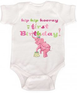 girls 1st birthday jumper