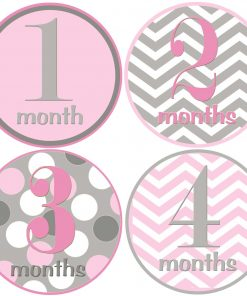 girl monthly stickers