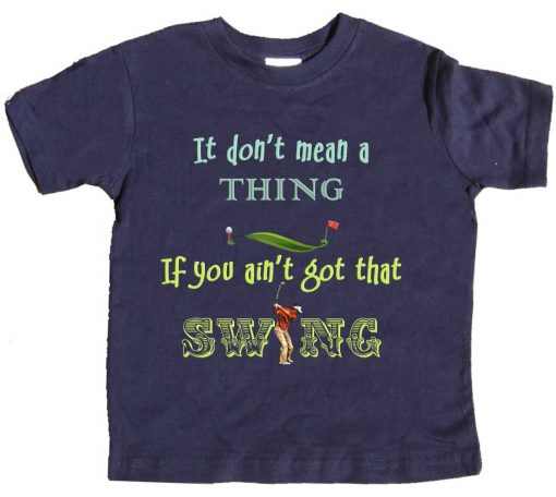 Toddler Boys Golf Tee Shirt