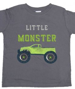 Monster Truck Boy T-shirt