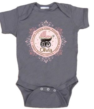 Baby Girl Princess Bodysuit