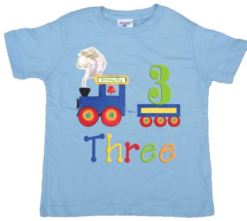 Boys 3rd Birthday Shirt