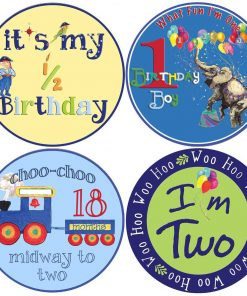 Boy Birthdays Stickers