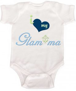 Glam ma Baby Boy Bodysuit