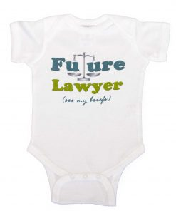 Future Lawyer Boy Bodysuit