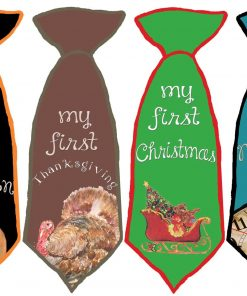 Baby Boy Necktie Holiday Stickers