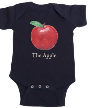 The Apple Baby Romper