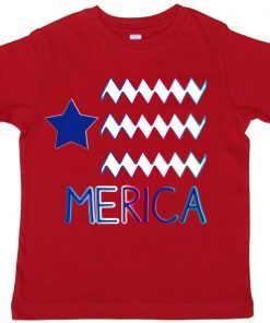 Merica Toddler Tee Shirt