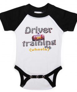 Baby Boy Race Car Romper