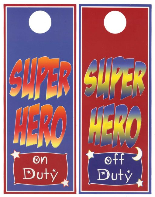 Super Hero Boys Room Decor