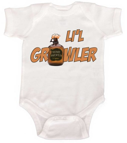 Little Growler Boy Bodysuit