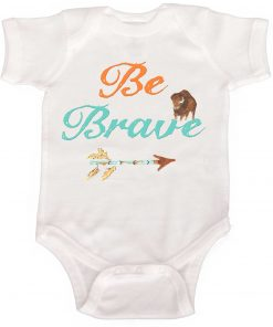 Boy Bodysuit Be Brave