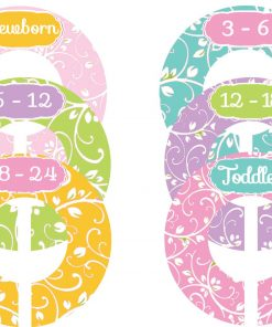 Baby Girl Nursery Closet Dividers