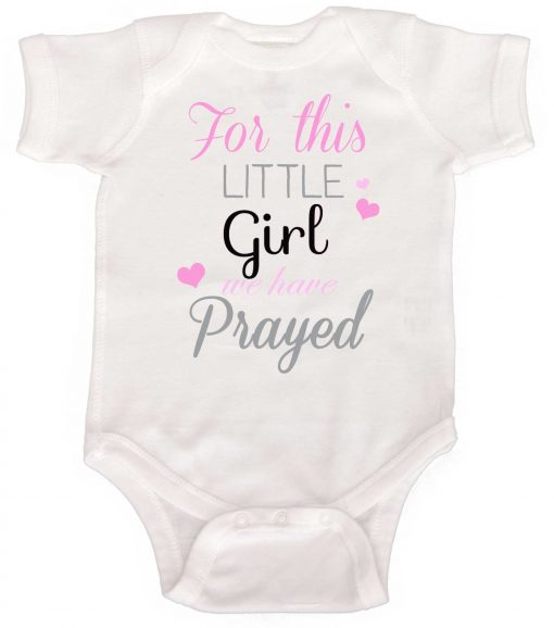 Newborn Baby Girl Bodysuit