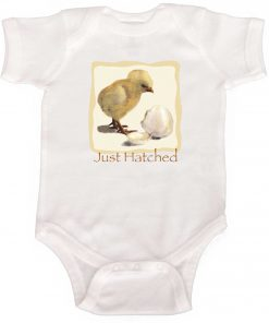 Just Hatched Newborn Bodysuit