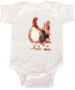 Infant Rooster Bodysuit