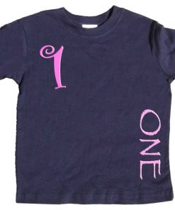 Girls 1st Birthday tee shirt