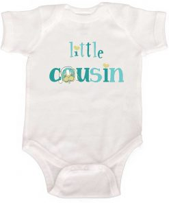 Little Cousin Boy Bodysuit