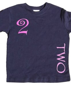 Girls 2nd Birthday Shirt