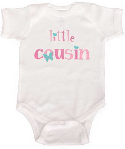 Little Cousin Baby Bodysuit