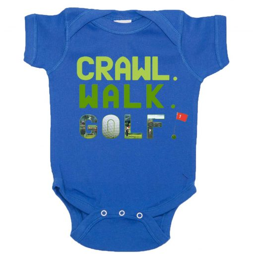 Funny Golf Baby Bodysuit