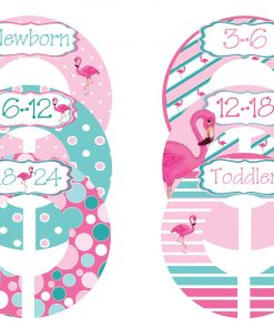 Nursery Closet Dividers for Baby Girl