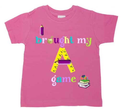 Girls Back to School Tee Shirt