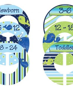 Nautical Boy Closet Dividers