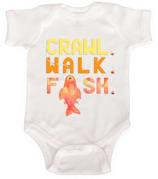 Baby Boy Fishing Bodysuit