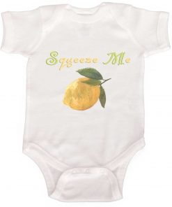 Cute Lemon Baby Bodysuit