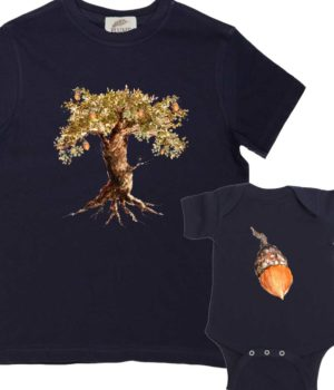 The Acorn and the Oak Tree Shirts