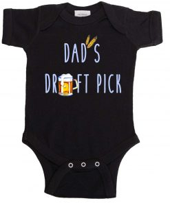Dads Draft Pick Boy Bodysuit