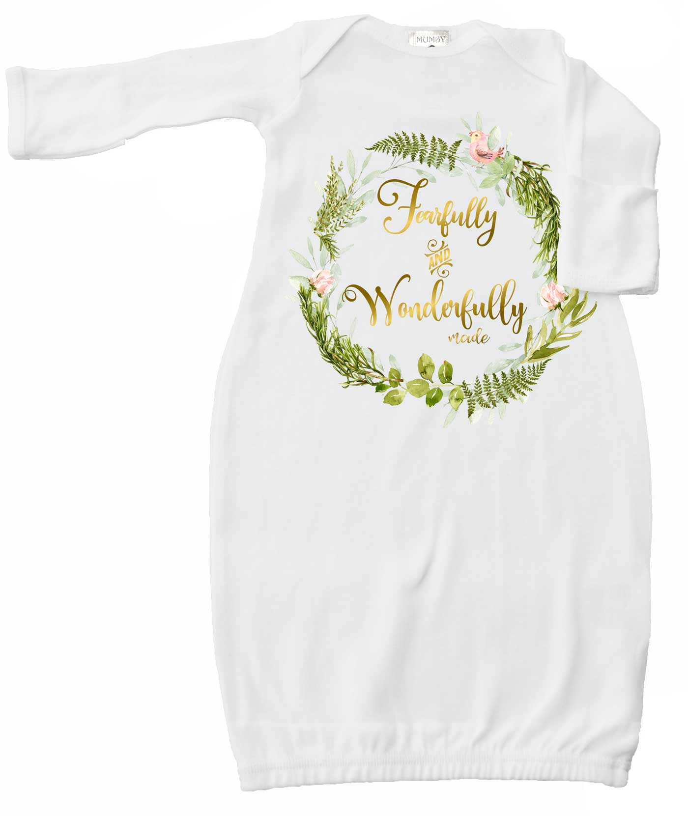 Newborn Baby Girl Layette Coming Home Gown Girl Hospital Sack ...